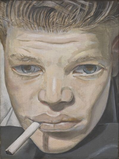 Lucian Freud, 'Boy Smoking', 1950-1951