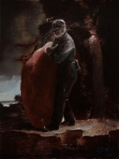 Cui Xinming 崔新明, 'Genre Painting Study 12 风俗画研究12', 2020