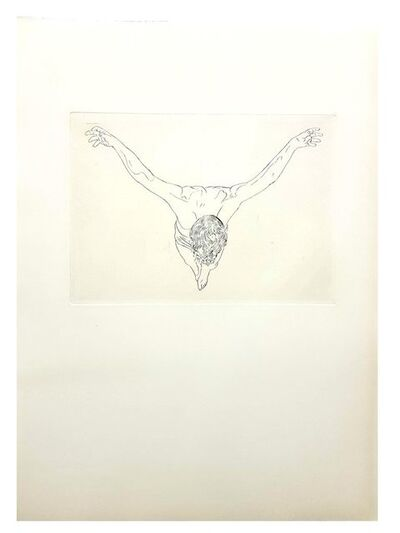"Salvador Dalí, 'Original Etching ""Christ Study"" by Salvador Dali', 1951"