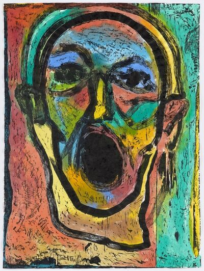 Jim Dine, 'Poet Singing, First Version', 2016