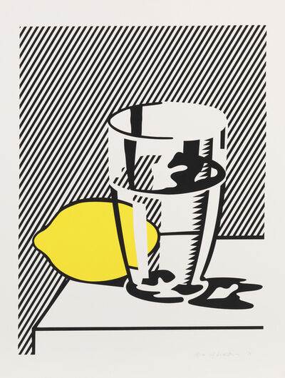 Roy Lichtenstein, 'Still Life with Lemon & Glass', 1974
