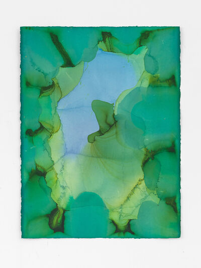 Jason Martin, 'Untitled (Pale green)', 2020