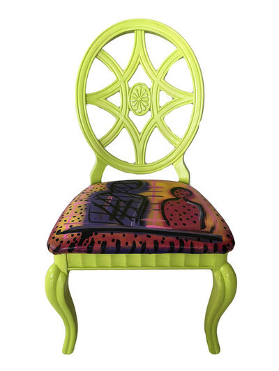Humberto Poidomani, 'Infinity Ghost Lime Chair', 2018