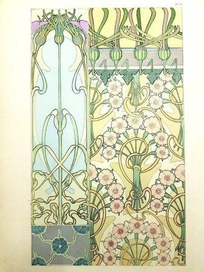 """Alphonse Mucha, 'Original Lithograph """"Flowers I"""" by Alphonse Mucha', 1902"""