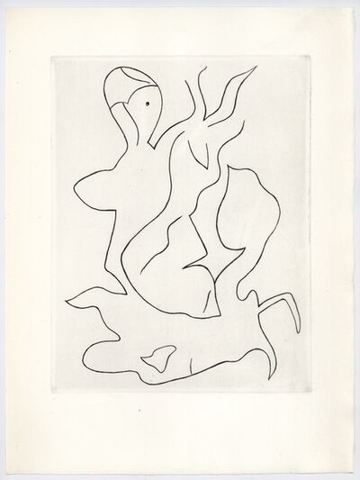 Sophie Taeuber-Arp and Jean Arp, 'Untitled, Paroles Peintes', 1965