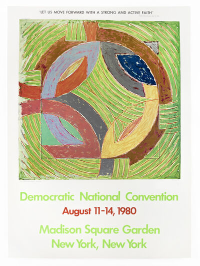 Frank Stella, 'Democratic National Convention 1980 (Polar Coordinate IV 1980) ', 1980