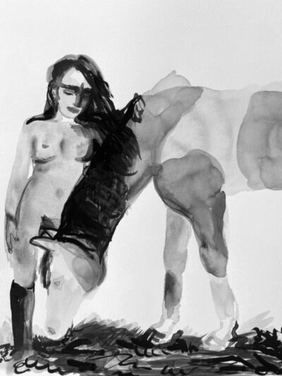 Suzy Spence, 'Dejeuner sur l'herb (Grazing)', 2020