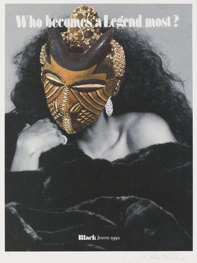 Margaret Rose Vendryes, 'Blackglam Legends: Black Jessye 1992', 2019