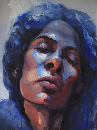 Ilya Sprindzhuk, 'Blue Light', 2017