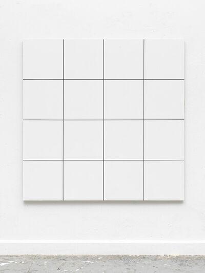 Gregor Hildebrandt, 'Morellet /Glass 16 Felder', 2017