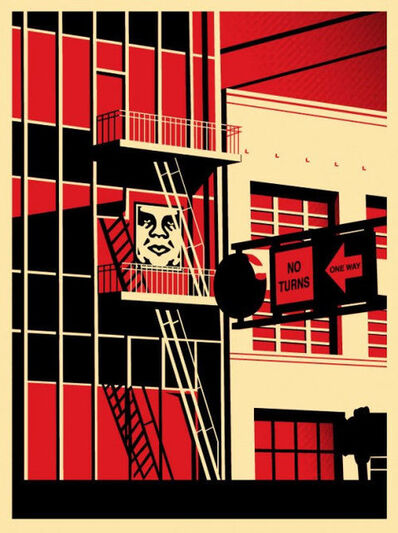 Shepard Fairey, 'SF Fire Escape', 2011
