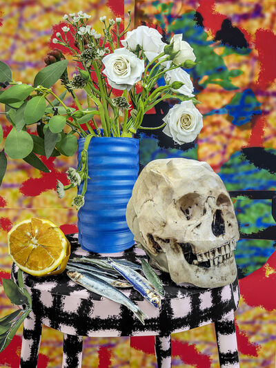 Daniel Gordon, 'Flowers and Skull, 2020', 2020