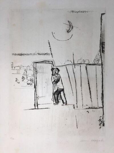 Marc Chagall, 'Vom Der Tore', 1922