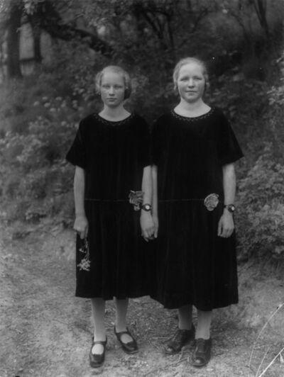 August Sander, 'Country Girls', 1925