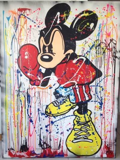 Clem$, 'Boxing Mickey ', 2017