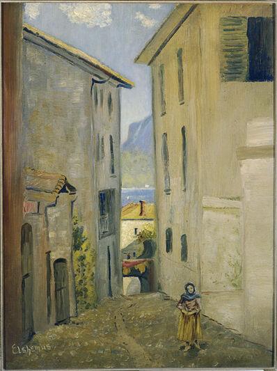 Louis Michel Eilshemius, 'Street in Lugano', 1893