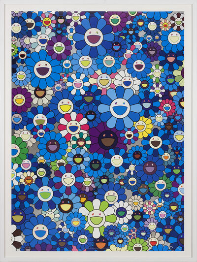Takashi Murakami, 'An Homage to IKB 1957 C', 2012
