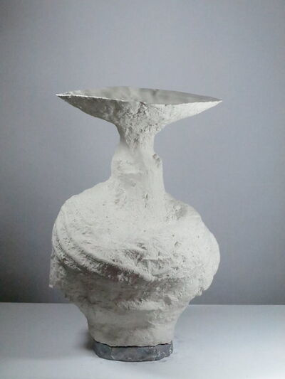 Johannes Nagel, 'White Vessel', 2019