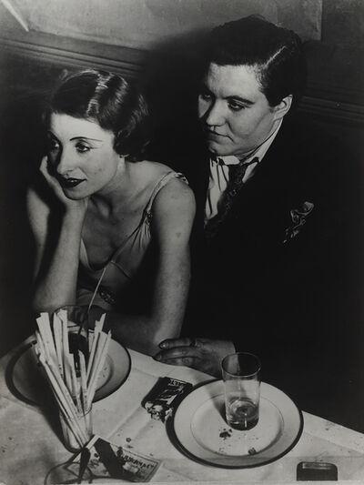 Brassaï, 'Au Monocle, un couple (Fat Claude and her Girlfriend at Le Monocle)', ca. 1932
