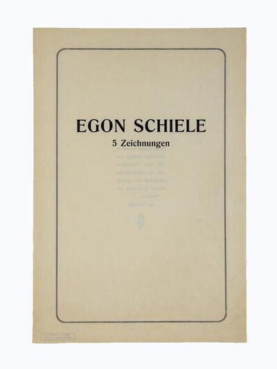 Egon Schiele, '5 Zeichnungen', ca. 1920