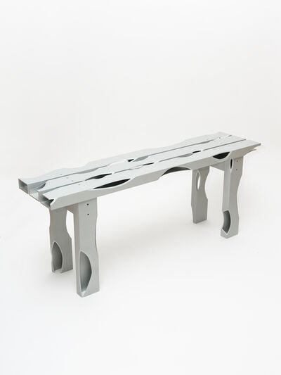Soft Baroque, 'Carved Aluminum Bench', 2020