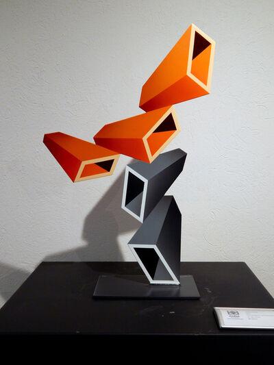 Daniel Sanseviero, 'Orange Perspective with Gra', 2019