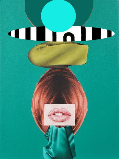 Jennifer Nehrbass, 'Green Totem', 2020