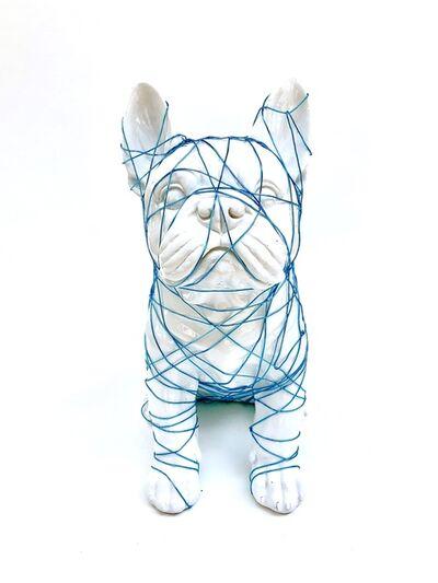 Krista Berman, 'Flavin Wire Frenchie', 2018