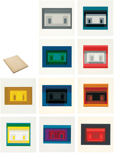 Josef Albers, 'Ten Variants', 1967