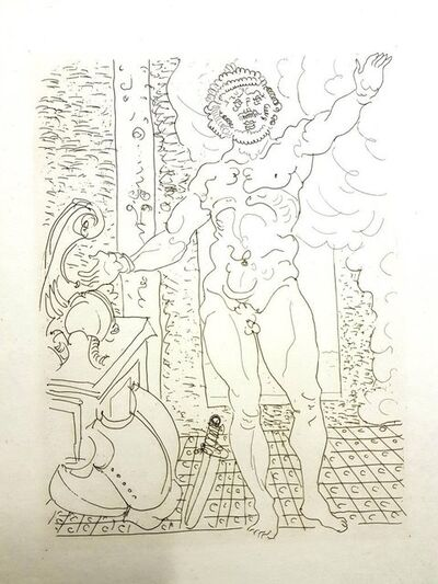 """André Derain, 'Original Etching """"Ovid's Heroides"""" by Andre Derain', 1938"""