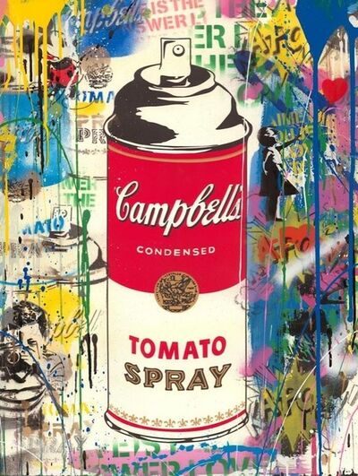 Mr. Brainwash, 'Tomato Spray', 2019