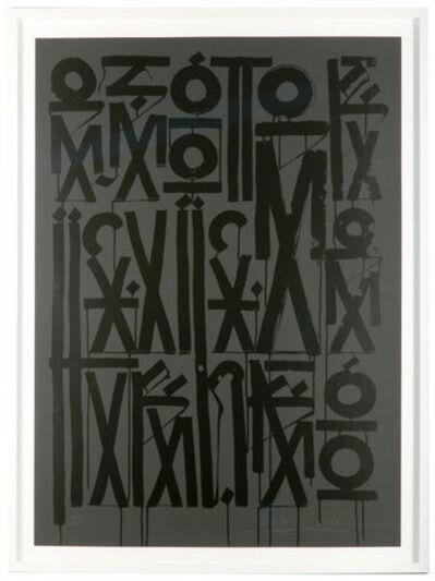 RETNA, 'Esoteric Existence Black', 2011