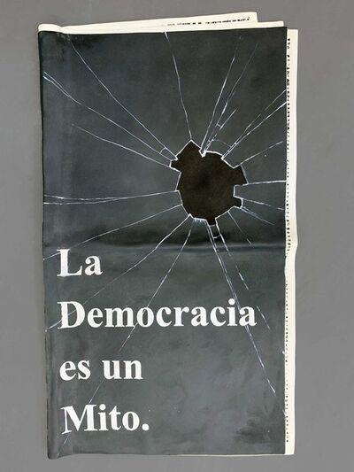 Vanderlei Lopes, 'La democracia es un Mito', 2019