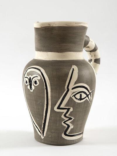 Pablo Picasso, 'Pichet gravé gris, (A.R.246)', 1954