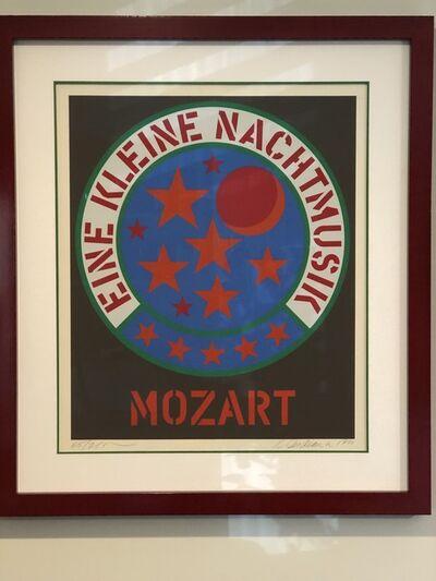 Robert Indiana, 'Eine Kleine Nachtmusik - Mozart', 1971