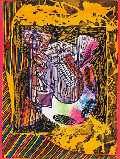 Frank Stella, 'As Good As The Salt', 1989