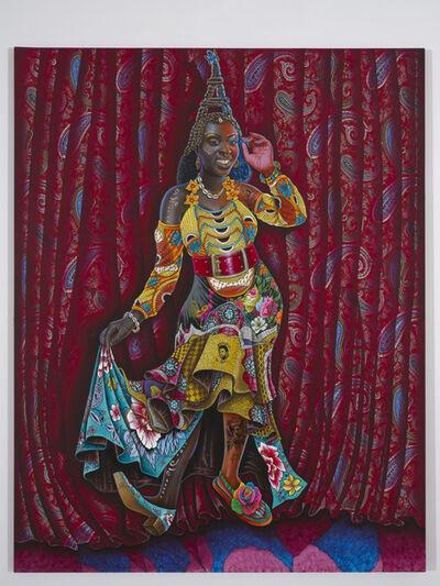 JP Mika, 'Africaine à la parisienne', 2018
