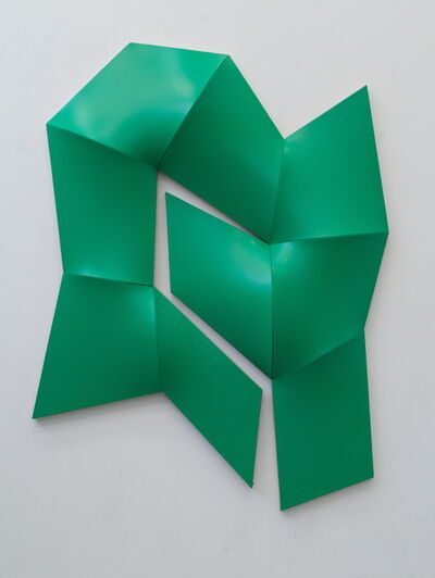 Jan Maarten Voskuil, 'Improved Dynamic Monochrome green', 2015