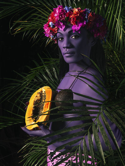 Namsa Leuba, 'La Femme à la Papaye I', 2019