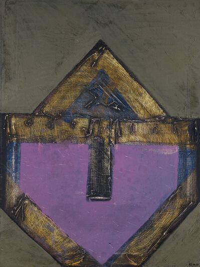 Vicente Rojo, 'Señal sobre fondo violeta', 1967