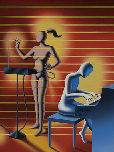 Mark Kostabi, 'Once Upon a Dream', 2017