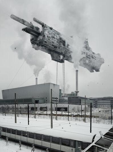 Cédric Delsaux, 'Dark Transportation', 2018