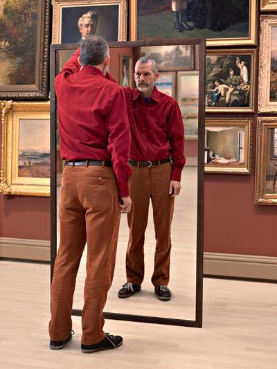 Adad Hannah, 'A Man Mirroring II', 2008