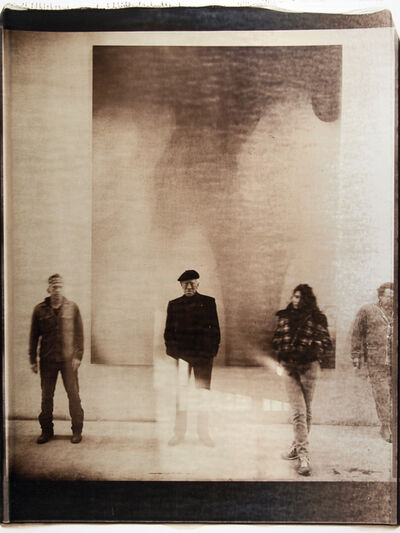 Julian Schnabel, 'Untitled (Julian, Max von Sydow, Stella and Brian Kelly)', 2007