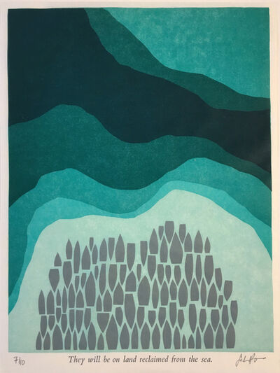 Sarah Bryant, 'They Will Be on Land Reclaimed from the Sea', 2016