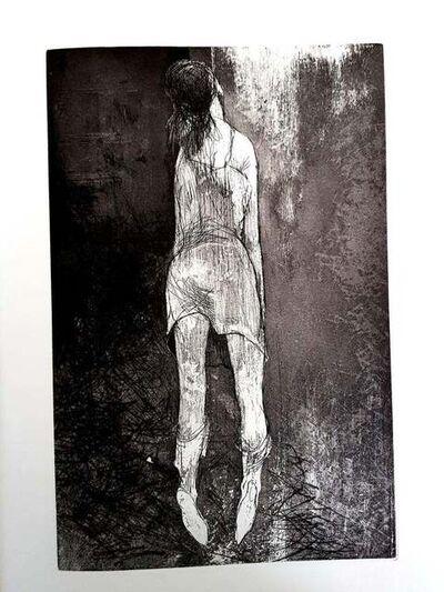 Jean Jansem, 'Jean Jansem Jean Jansem - Original Etching - Loneliness ', 1974