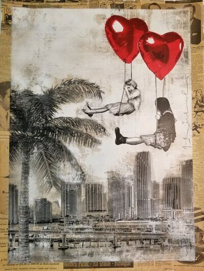 Mr. Brainwash, 'Love is in The Air Miami', 2019