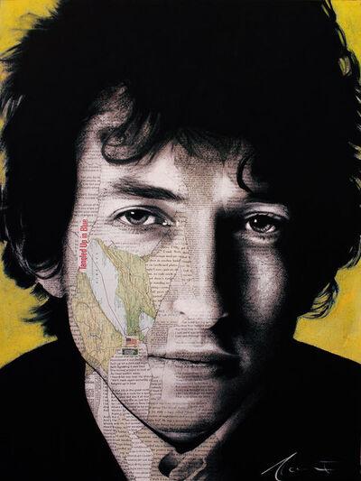 André Monet, 'Bob Dylan', 2019