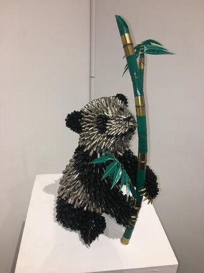 Federico Uribe, 'Bamboo Panda', 2019