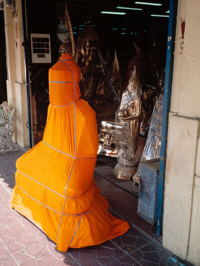 Ralf Schmerberg, 'Buddha in Transit, Bangkok, Thailand', 2005